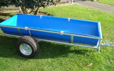 250L Calf feed trailer