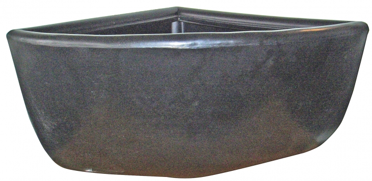 30 Litre Corner Bin Rounded Sides With Brackets