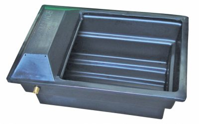 100 litre Oblong End Cover Trough