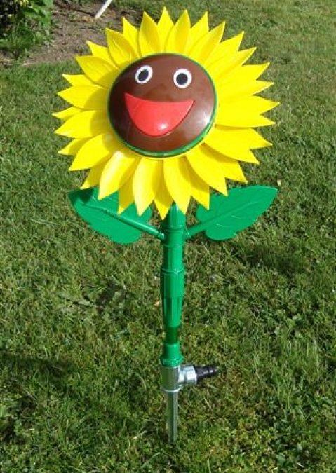 Smiling Sunflower Sprinkler