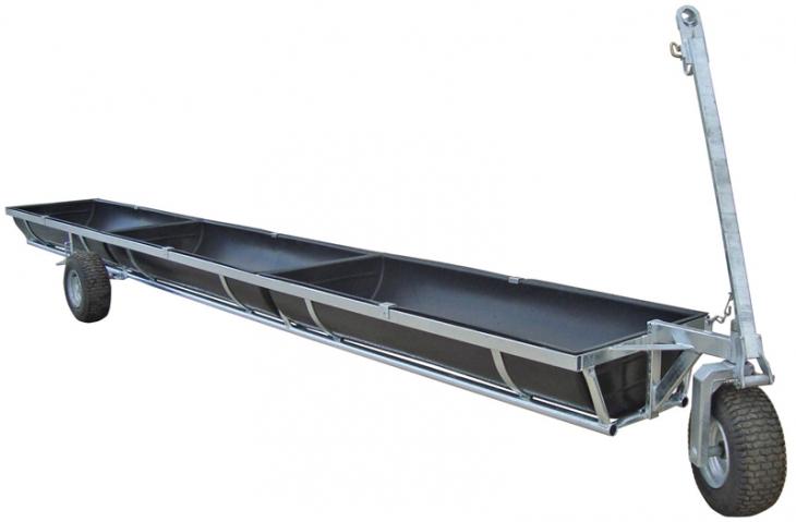 750L Calf or Multipurpose Feed Trailer